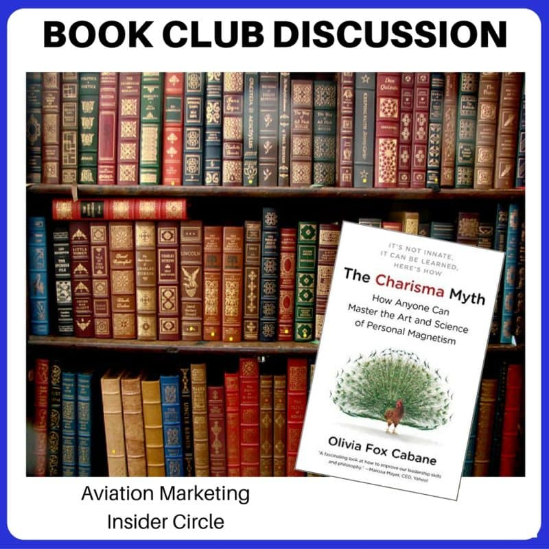 Great aviation sales pros - Book Club - Charisma Myth