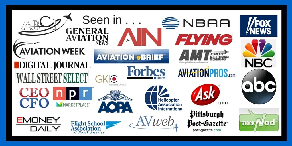 International aviation marketing by ABCI has been seen in many places!