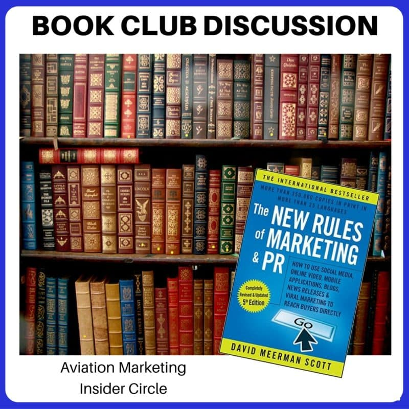 Book Club - New Rules of Marketing and PR