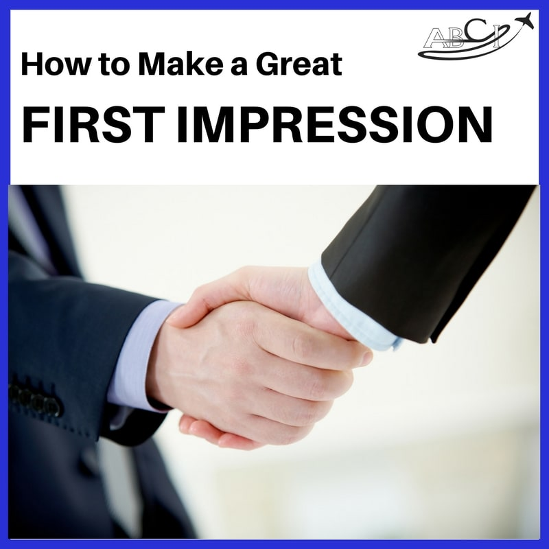 Aviation marketing - FIrst Impressions