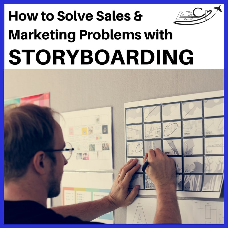 how to solve aviation marketing and sales problems with storboarding