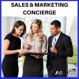 aviation sales and marketing concierge service