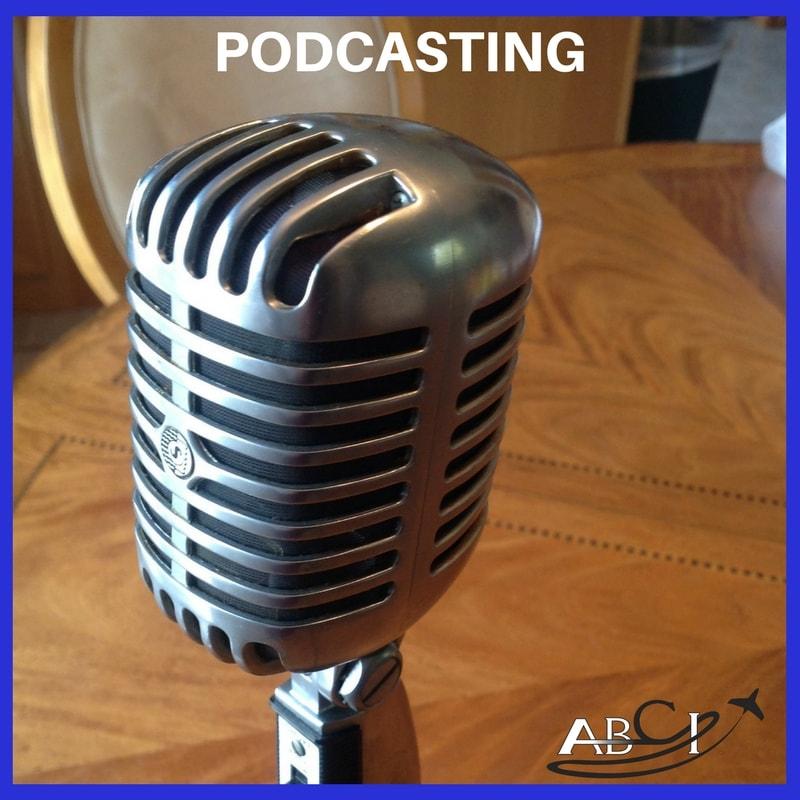 Aviation marketing podcast program