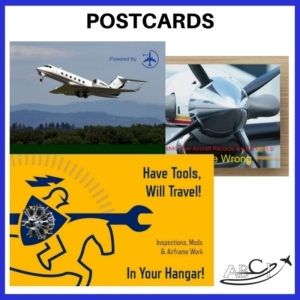 Aviation Postcard Marketing