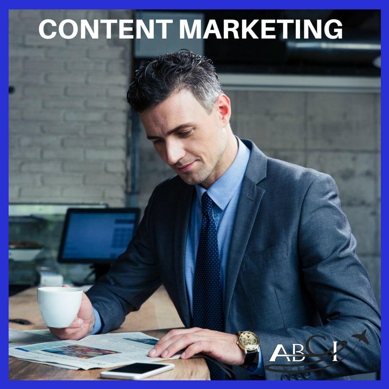 Aviation content marketing