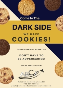 Press kits - Dark side - cookies