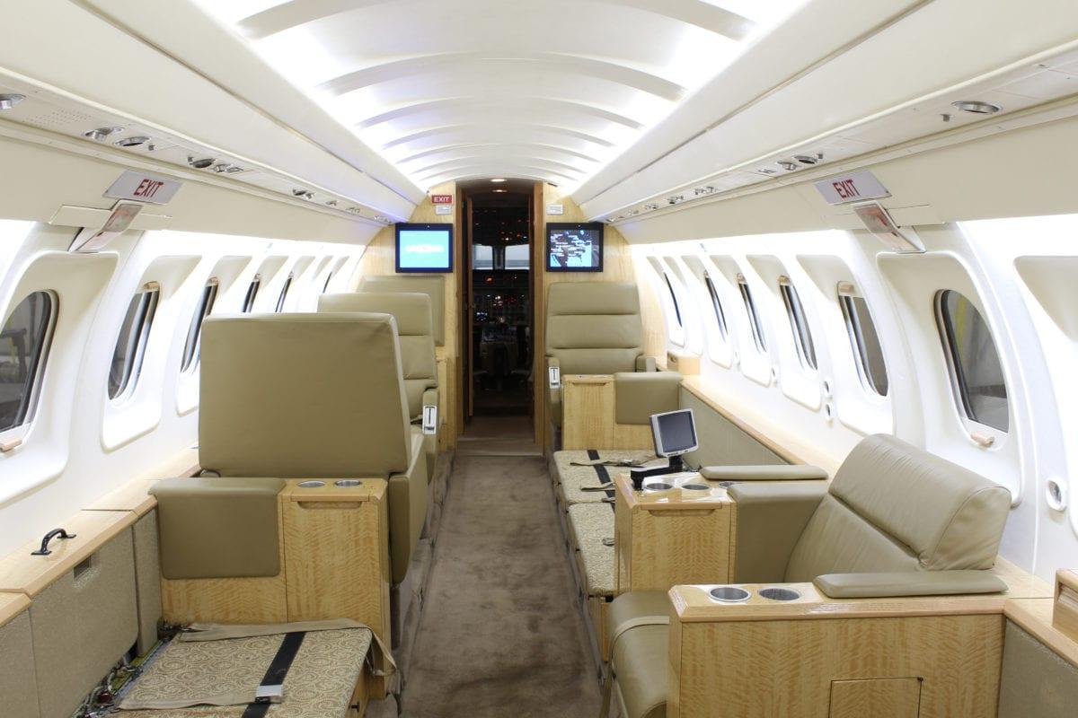 Private Jet Interior Refurbishment Cost