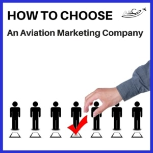 How to choose an Aviation Marketing Company