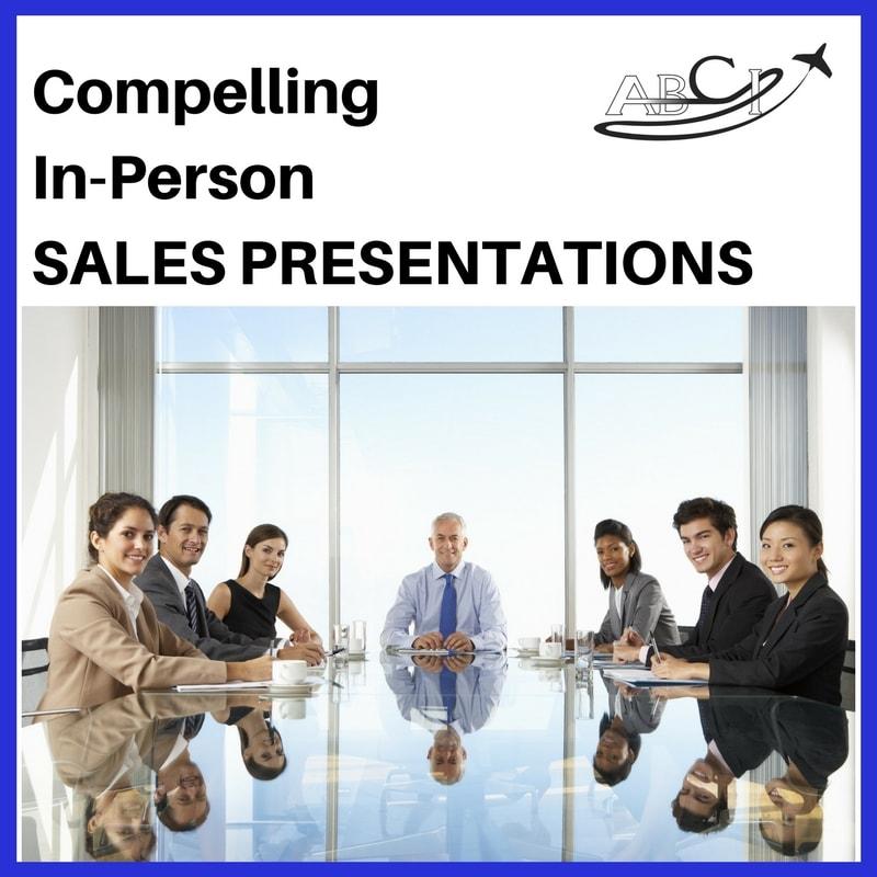 In Person Sales Presentations