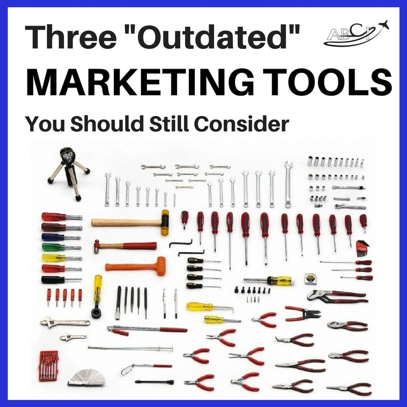 "Three ""Outdated"" Aviation Marketing Tools You Should Consider Using"