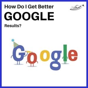 Aviation Marketing on Google - Better Google Results?