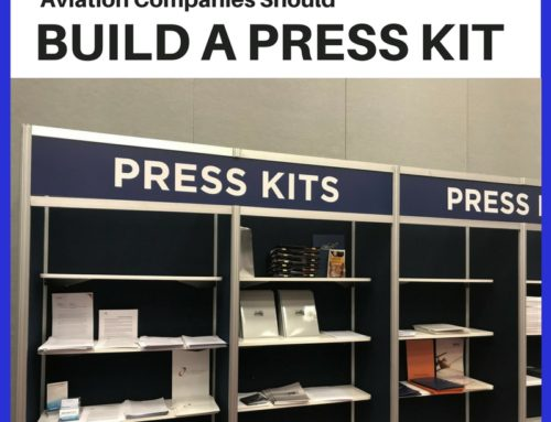 How (and Why!) to Create & Deploy an Aviation Press Kit