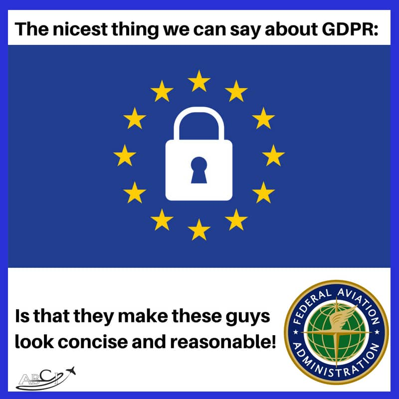 GDPR and Aviation Marketing