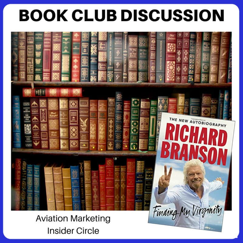 Aviation Sales & Marketing Book Club - Finding My Virginity by Richard Branson