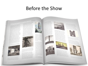 How to sell Aviation Art at a trade show - Build a Catalog!