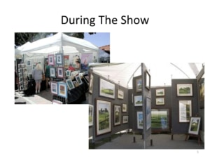 How to Sell Aviation Art - the Booth