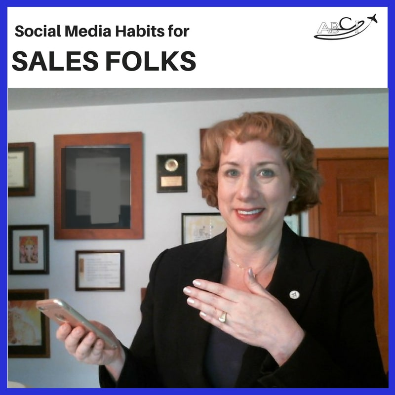 Social Media Habits for Salespeople