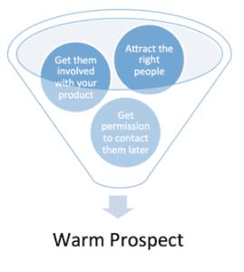 warm prospect