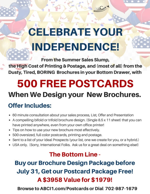 Celebrate Independence with Free Postcards