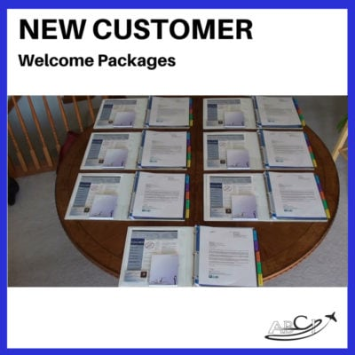 "Aviation Marketing ""Secret Weapon"" - New Customer Welcome Packages"