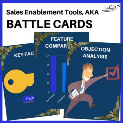 Sales Enablement Cards