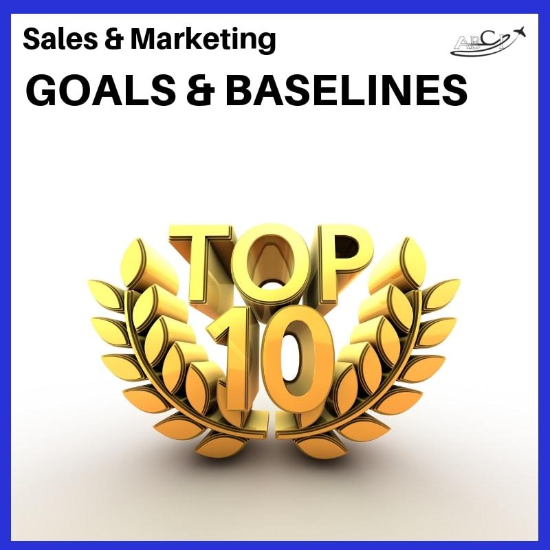 Aviation Marketing Strategies - Goals & Baselines for 2019