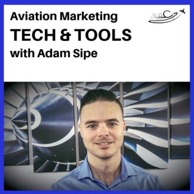 Aviation marketing tools & tech