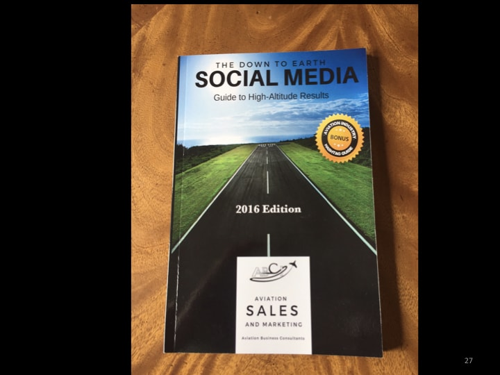 Aviation marketing course - social media guide