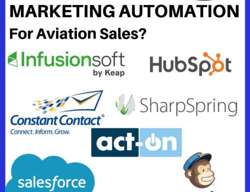 AMHF 0167 – Best Aviation Marketing Automation – Salesforce, Hubspot, Infusionsoft, Sharpspring, Mailchimp?