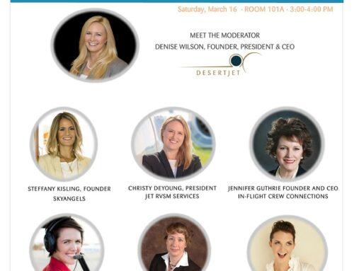 Female Entrepreneurs in Aviation – Creating Your Own Path through Entrepreneurship