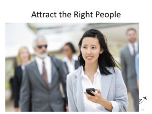aviation businesses attract the right people