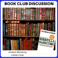 Aviation Book Club - Guerilla Marketing by Jay Conrad Levinson