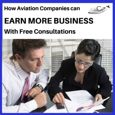 How aviation companies can earn more business with free consultations