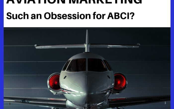 Why is Aviation Marketing such an obsession for ABCI?