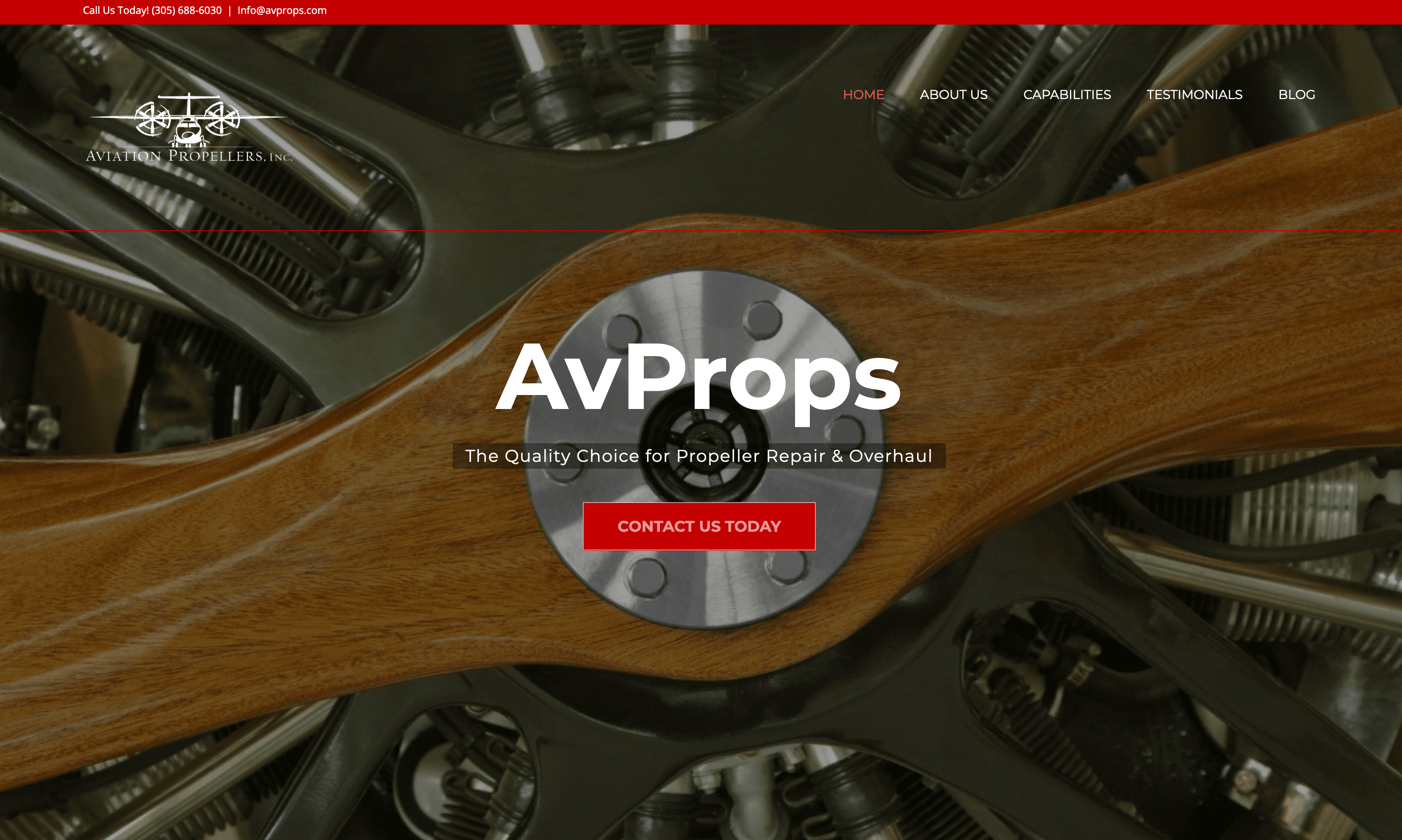 Aviation Propellers Web Site