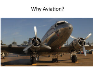 Why aviation?