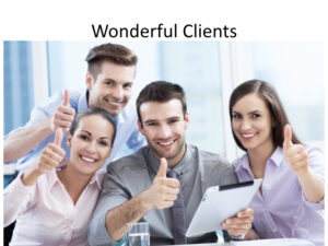 Our aviation marketing consulting company has the best clients!