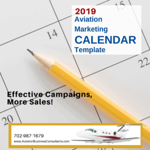Aviation Marketing Calendar Template