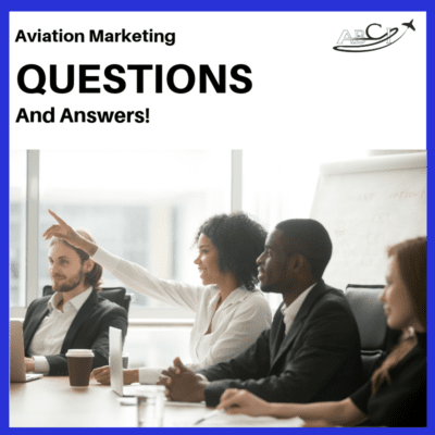 Aviation Marketing Questions and Answers