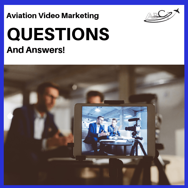 Aviation video marketing