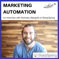 Aviation Marketing Automation Tools - An Interview with Nicholas Mangold of SharpSpring