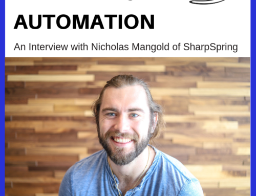 Aviation Marketing Automation – An Interview with Nicholas Mangold of SharpSpring