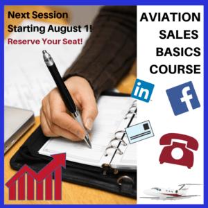 Aviation Sales Course