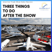 How to follow up after an aviation trade show