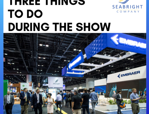 Three Things to do DURING an Aviation Trade Show in 2019