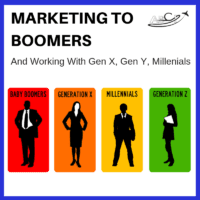 Marketing to Boomers and working with Gen X, Gen Y, and Millenials