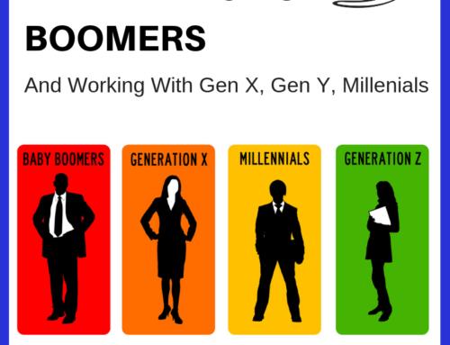Working with an Marketing to Boomers, Gen X, Gen Y & Millenials