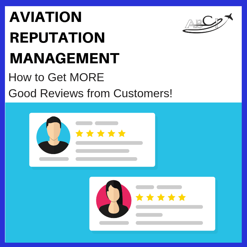 Positive reviews for aviation