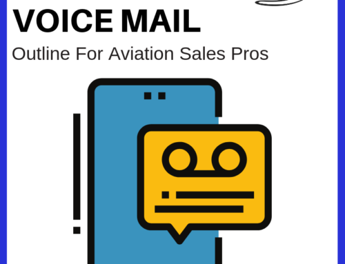 The Ultimate Five-Sentence Voice Mail Outline for Aviation Sales Pros