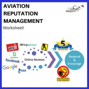 Aviation Reputation Management Worksheet